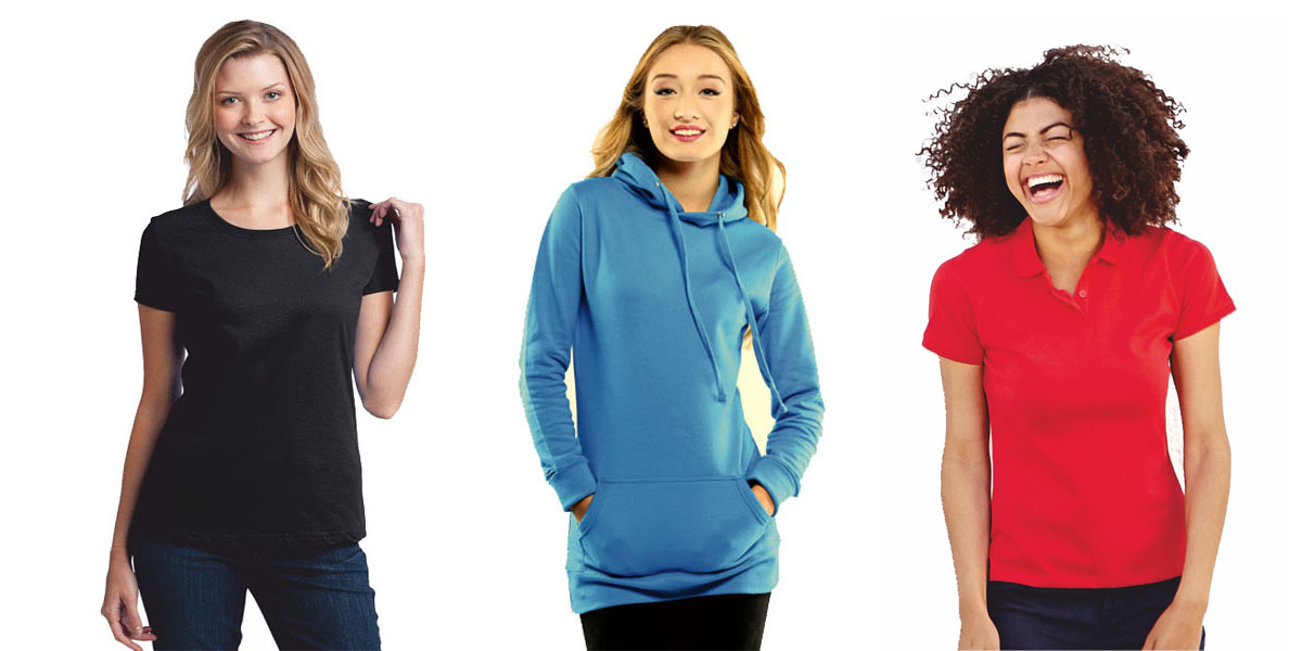 Check out the wide range of ladies' clothing from DecalArts