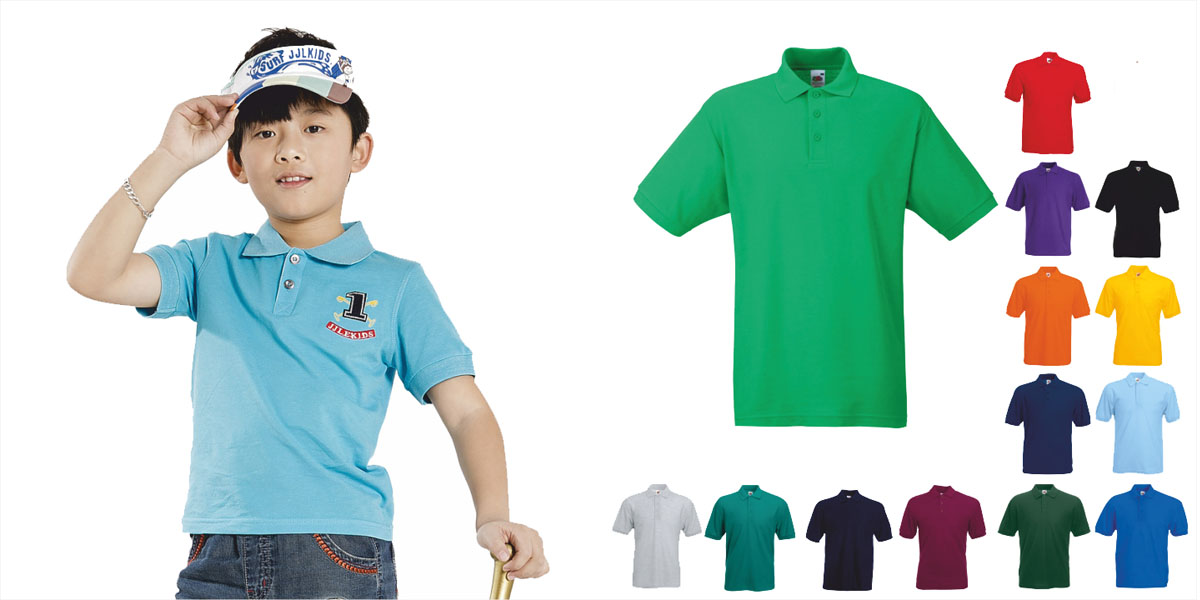 Check out our range of children's polo shirts from DecalArts