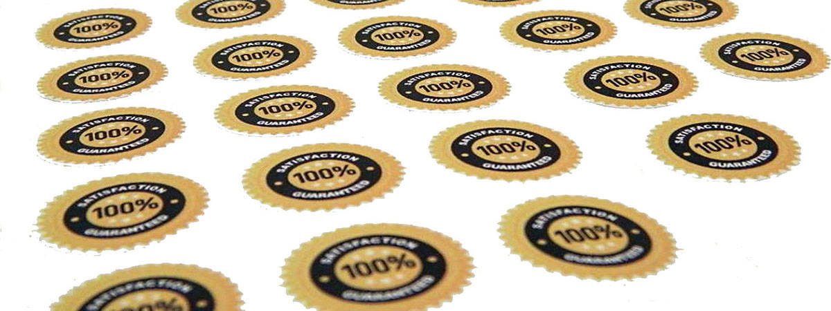 Stickers printed on various types of materials in any shape